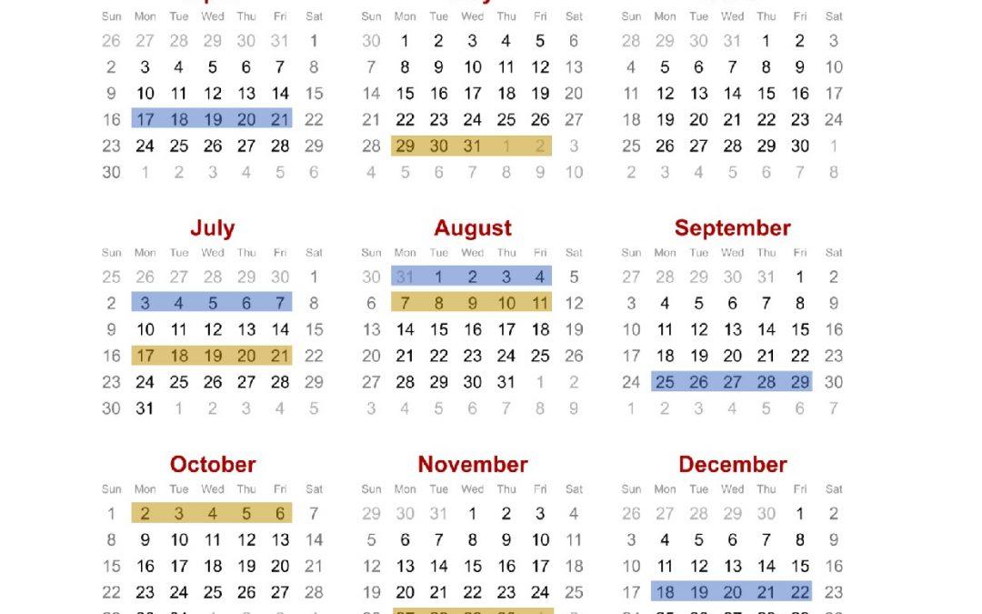 Training Calendar 2017 for SBL-Khas (Skim Bantuan Latihan-Khas)